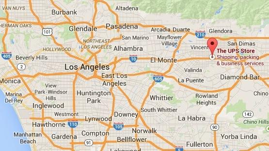 Covina and West Covina California Where I first dropped the