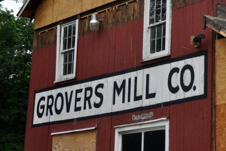 Photograph of Grovers Mill by Kendall Whitehouse. 2011. © All rights reserved.